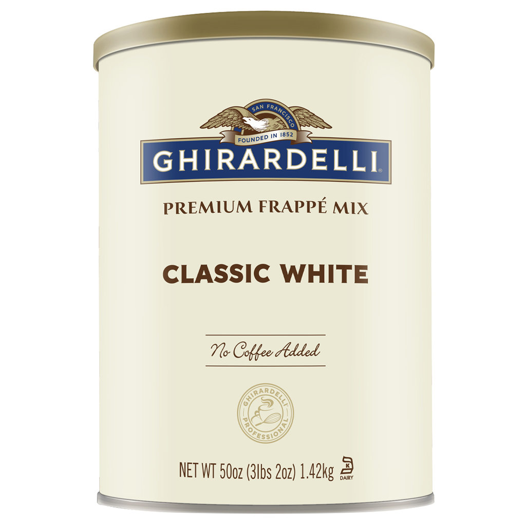 Ghirardelli White Chocolate Frappé Pulver (1,42 kg)