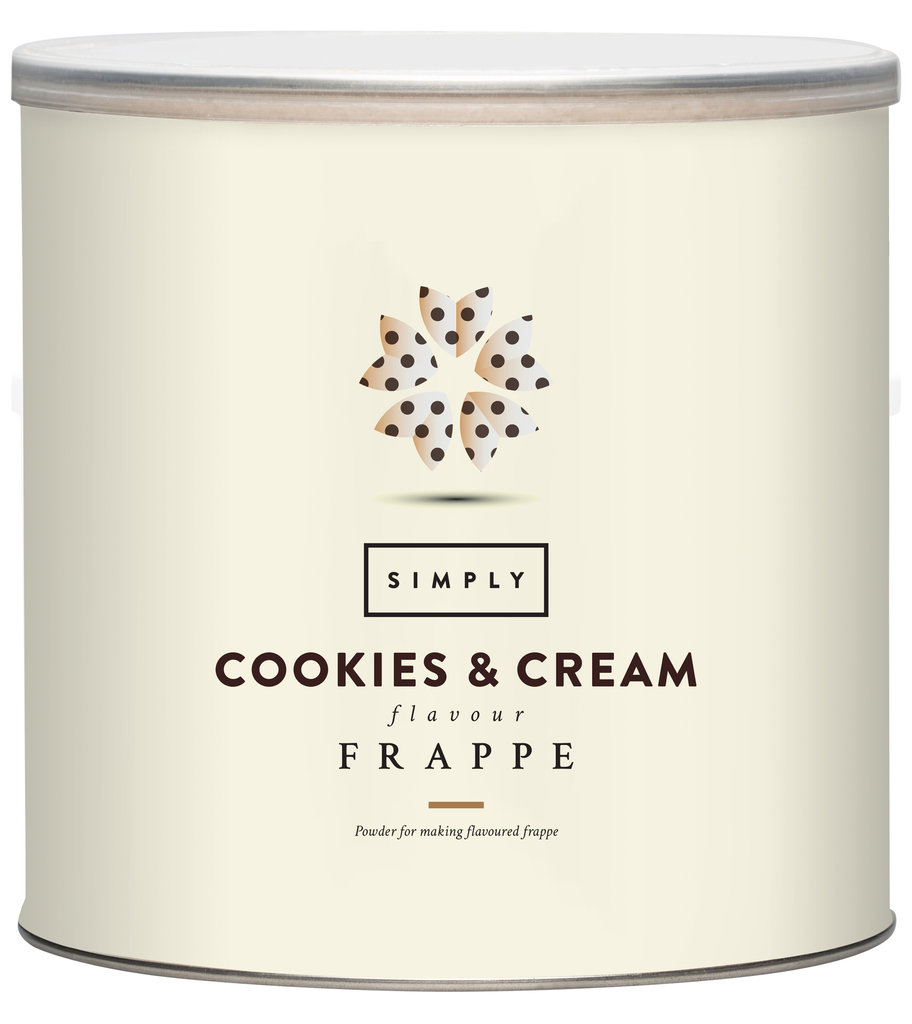 Simply Cookies & Cream Frappé Pulver (1,75 kg)