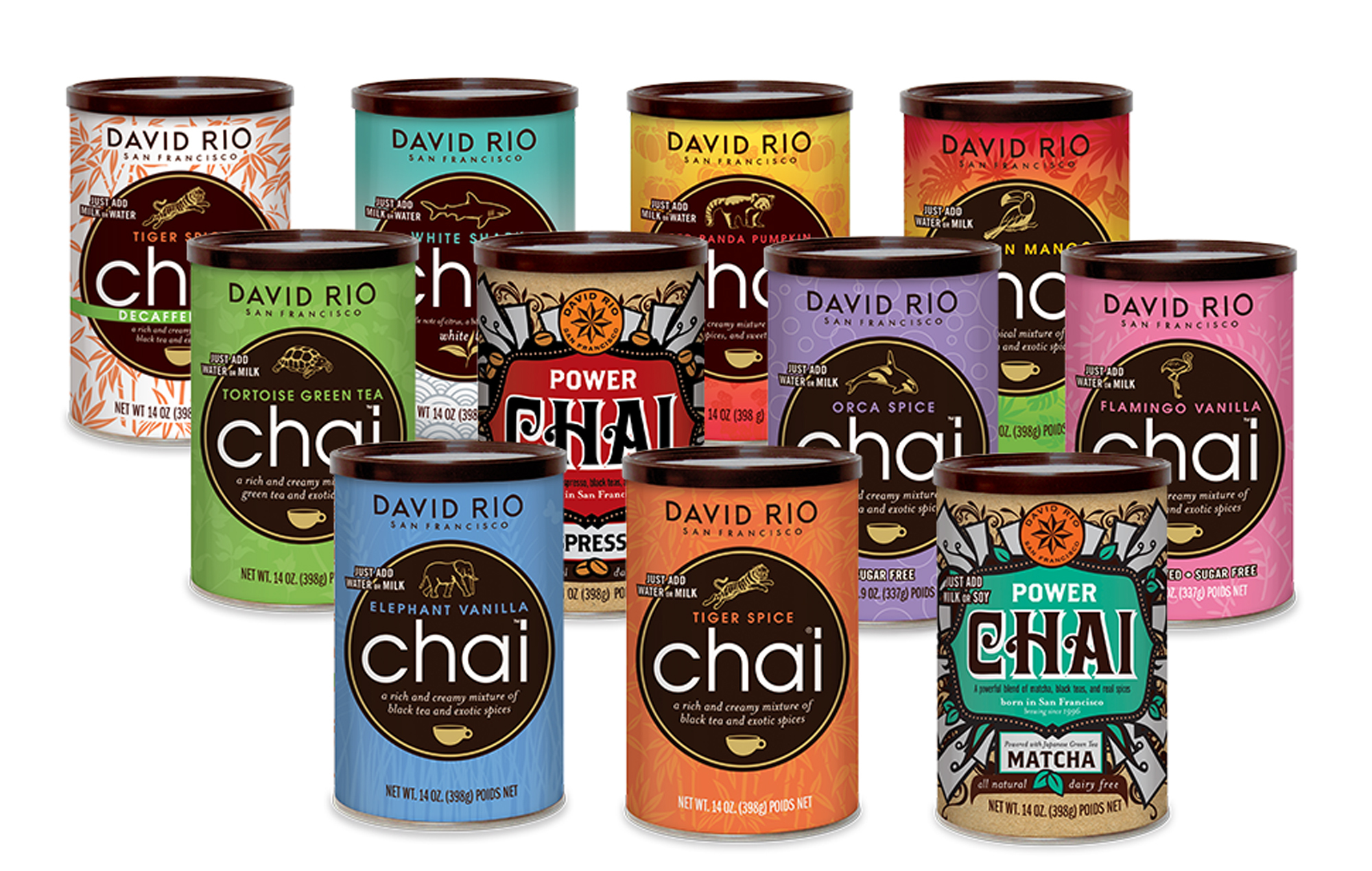 Neu im Sortiment David Rio Chai aus San Francisco!